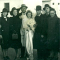 Wedding in Concentration Camp of Ferramonti, Calabria 1940's
